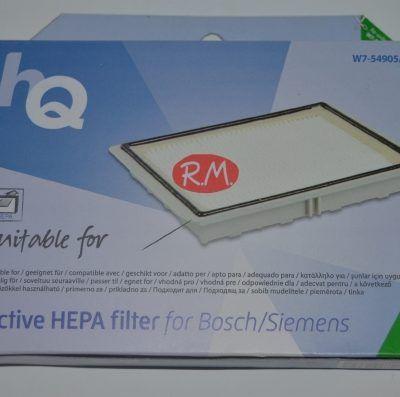 Filtro higiénico alto rendimiento aspirador Bosch 00578733