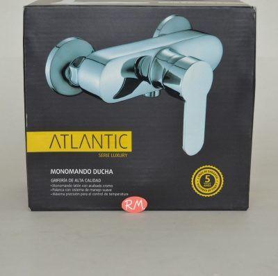 Grifo monomando ducha Atlantic cromado