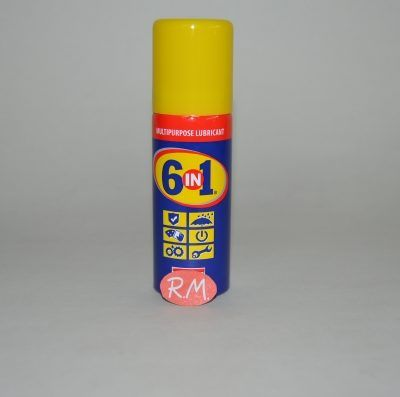 6 EN 1 lubricante en spray 50 ml