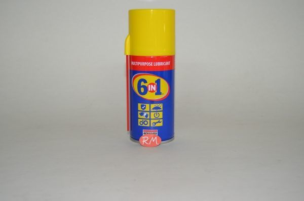 6 EN 1 lubricante en spray 150 ml