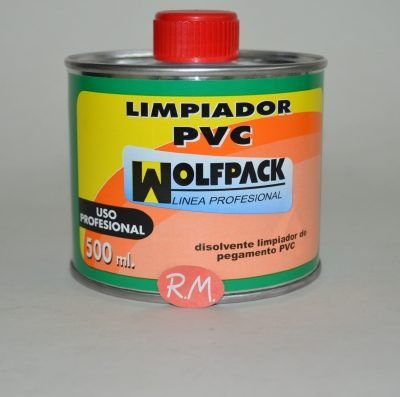 Limpiador Wolfpack tuberías PVC 500 ml