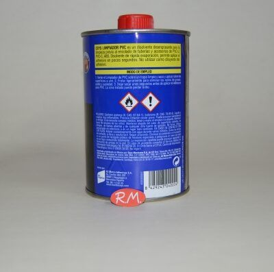 Limpiador tuberias pvc 500 ml Ceys 900002