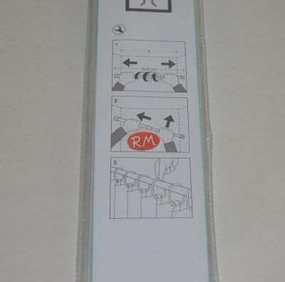 Barra cortina de ducha blanca extensible 70 /120 cm