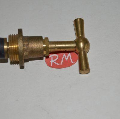 Montura grifo agua presión 20 mm