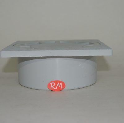 Sumidero sifónico salida vertical 15 x 15 cm