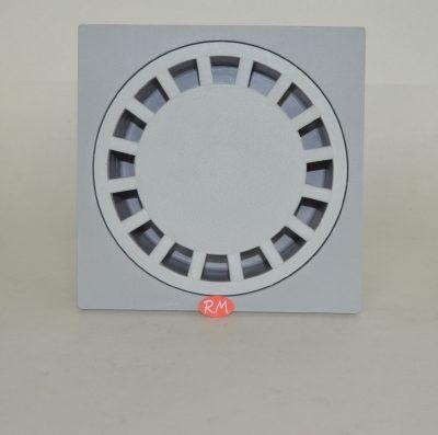 Sumidero sifónico Salida vertical Tapa extraíble con diámetro 177 mm Salida para tubo de PVC Ø 90 mm