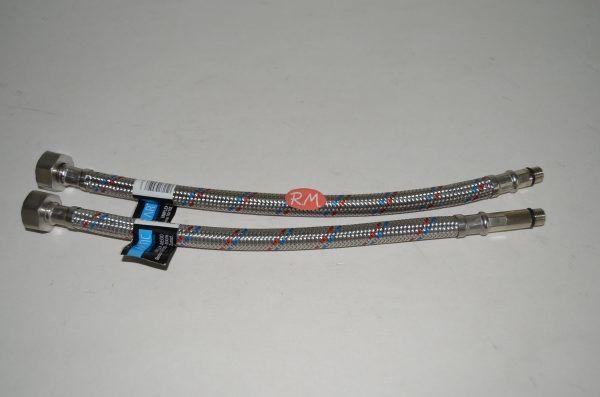 Conexión flexible grifería 30 cm H 1/2 M 10 mm