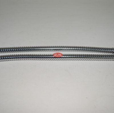 Conexión flexible inox grifería 35 cm H 3/8 M 10 mm