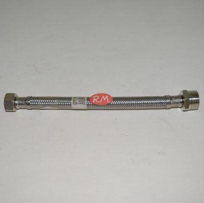 Conexión flexible agua 30 cm M 1/2 H 3/8