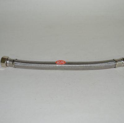 Conexión flexible agua 40 cm M - H 1/2 interior 9 mm