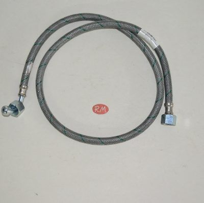 Latiguillo quemador caldera gasoil H 3/8 180° H 3/8 90° 100cm
