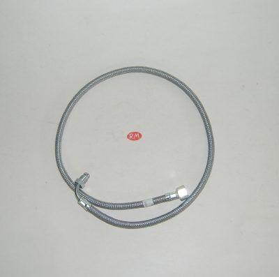 Latiguillo quemador caldera gasoil H 3/8 180° M 1/4 90° 90cm