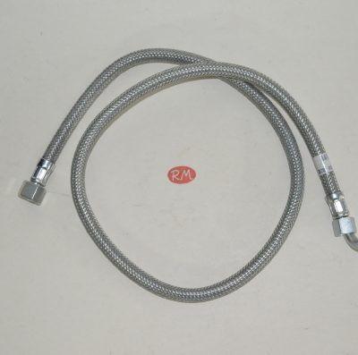 Latiguillo quemador caldera gasoil H 3/8 180° H 1/4 90° 90cm