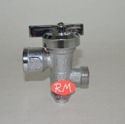 Llave de paso de gas M 1/2 - H 1/2