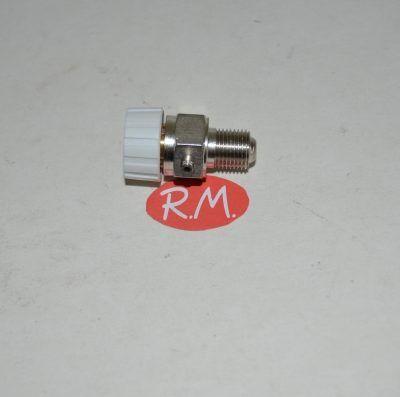 Purgador aire manual para radiador 1/8 cabeza de plástico