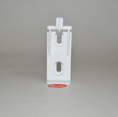 Soporte radiador 1 uña plástico