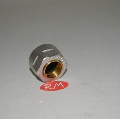 Racor válvula conexión tubo cobre de 16