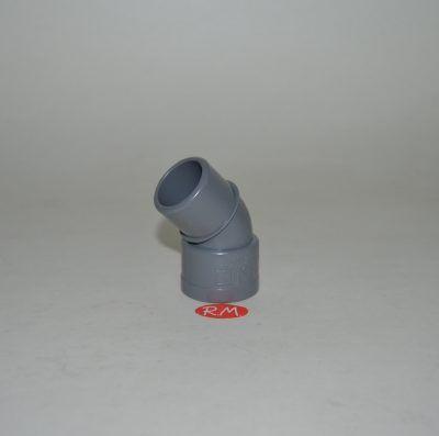 Codo 45° PVC Ø32 mm M H