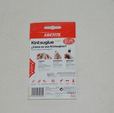 Loctite Kintsuglue masilla flexible blanca 3 x 5 gramos