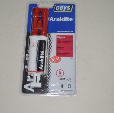 Ceys Araldite rápido jeringa 24 ml 510205
