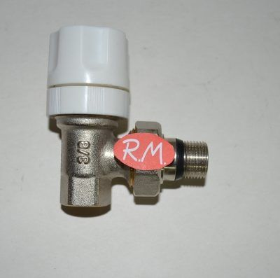 Llave escuadra radiador roscar M 3/8 a H 3/8