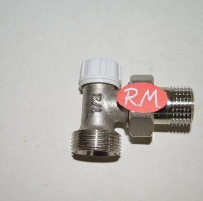 Detentor escuadra radiador roscar M 1/2 M 3/4