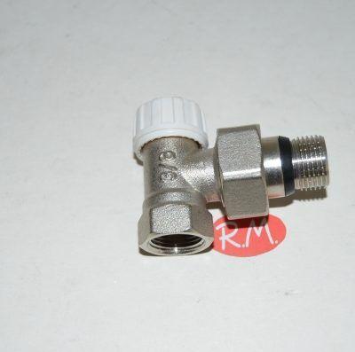 Detentor escuadra radiador roscar M 3/8 H 3/8