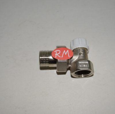 Detentor escuadra radiador roscar M 1/2 H 1/2