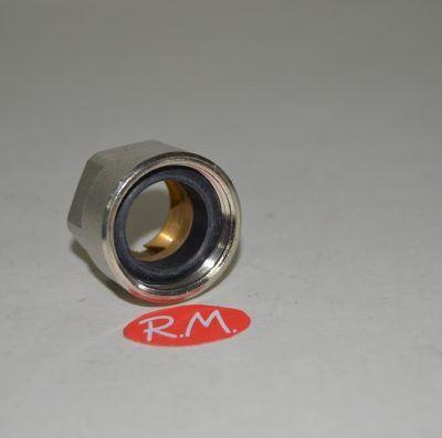 Racor válvula conexión tubo cobre de 18