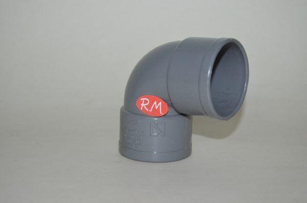 Codo 87° PVC Ø50 mm H H