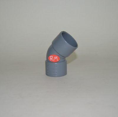 Codo 45° PVC Ø40 mm H H