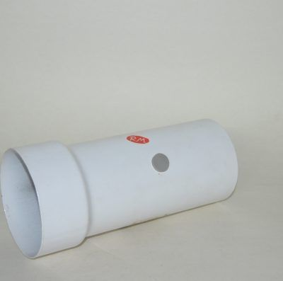 Tubo reducido evacuación humos Ø 110 a Ø 100 mm