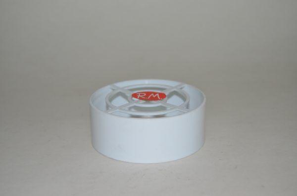 Deflector polipropileno condensación Ø80 mm