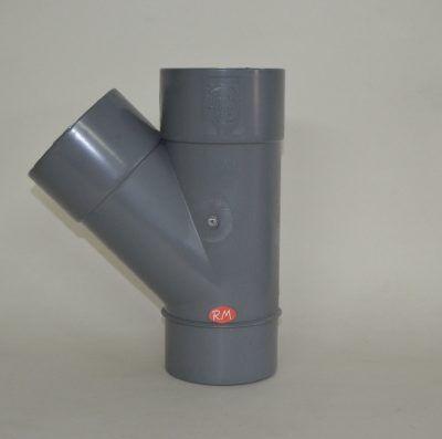 Te 45° PVC Ø110 mm M H H