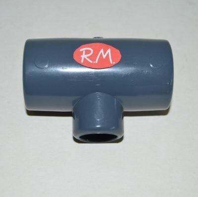 Te 87° PVC Ø32 - 20 - 32 mm H H H