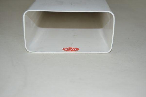 Tub pla tubo rectangular 60 x 120 mm x 1000 mm
