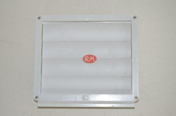 Tub pla ventanilla exterior salida rectangular 60 x 120 mm