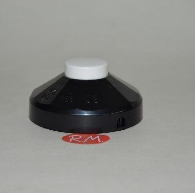 Interruptor de pié unipolar negro 2A 858N