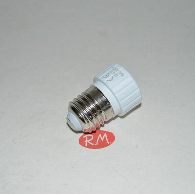 Adaptador casquillo E27 a GU10