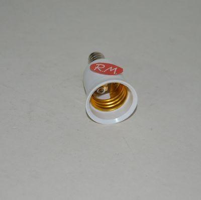 Adaptador casquillo E14 a E27