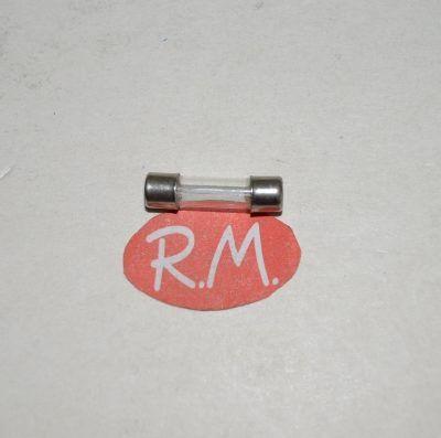 Fusible cilíndrico cristal 4A 5 x 19 mm