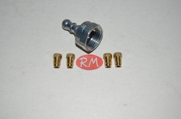 Conjunto inyectores a gas butano cocina Fagor CC1815100