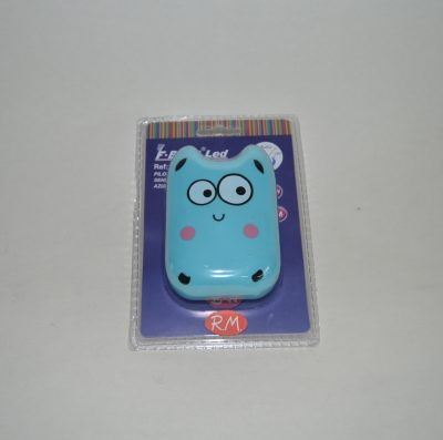 Luz quitamiedos monstruo azul con sensor 0.4 W