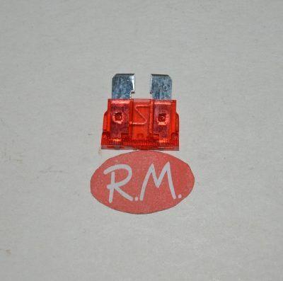 Fusible para automóvil 10A Rojo