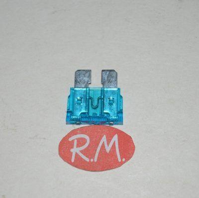 Fusible para automóvil 15A Azul