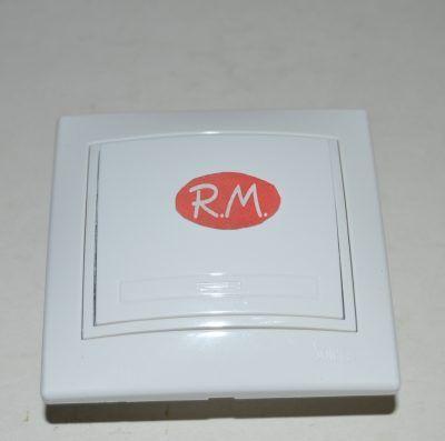 Conmutador empotrar blanco Solera ERP02U