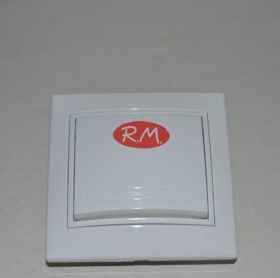 Conmutador cruce empotrar blanco Solera ERP09U