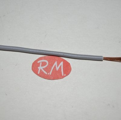 Cablecillo 2.5 mm gris libre de halógenos