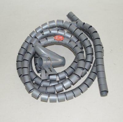 Organizador de cables gris 19 mm 2 metros