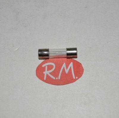 Fusible cilíndrico cristal 0.125A 5 x 20 mm